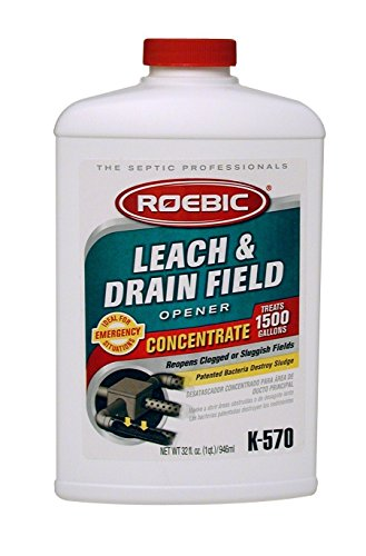 Roebic K-570 32 Fl. Oz Biodegradable Leach & Drain Field Concentrate - 5-Pack