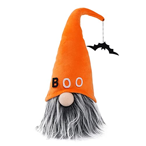 Halloween Gnomes Plush Decor Handmade Craft Tomte Nisse Scandinavian Ornaments Elf Dwarf for Home Halloween Day Party Table Decorations
