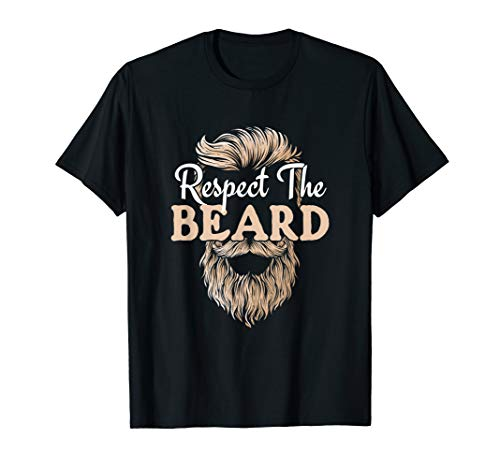 Respect The Beard product Manly Humor A Gentleman's Request T-Shirt