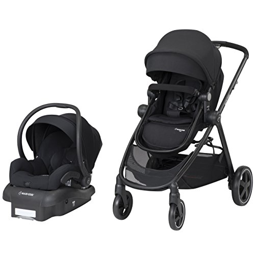 Maxi-Cosi Zelia 5-In-1 Modular Travel System, Night Black, One...