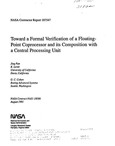 Toward a formal verification of a floating-point coprocessor and its composition with a central processing unit (English Edition)