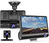 "Dash Cam 1080P FHD DVR Car Driving Recorder 4"" LCD Screen 170°Wide Angle"