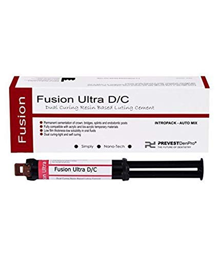 Prevest Denpro Fusion Ultra D/C Automix Intro Pack, Dental Products