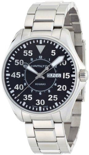 [ハミルトン] 腕時計 Khaki Pilot 42mm H64611135 正規輸入品 シルバー