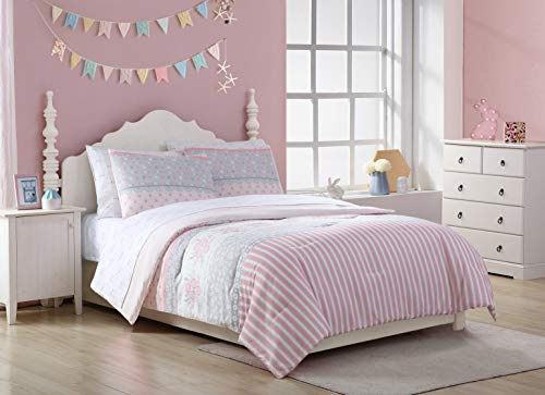 Kute Kids Comforter Set in Multiple Sizes and Designs- Soft, Cozy, Warm Colorful Comforter Set Child's Bedroom Decor Making Sleeping Easy for Boys and Girls (Full, Elsie)