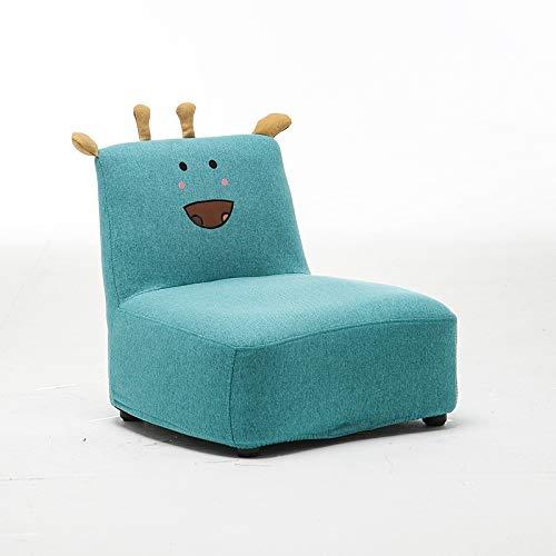GZQDX Sofá para niños, Muebles Simples Mini sofá para bebés Sofá para niños/Perezoso para niños Silla de Aprendizaje para niños pequeños Dibujos Animados para Jugar Juegos/Mirar televisión/Leer