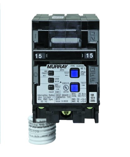 Murray MP215AFC 15-Amp 2 Pole 120-Volt Combination Type Arc Fault Circuit Interrupter