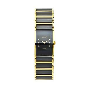 Rado Women's R20789752 Integral Black Dial Ceramic Bracelet Watch image