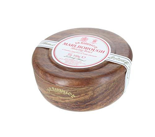 D.R.Harris & Co Marlborough Mahogany Effect Shaving Bowl & Shaving Soap
