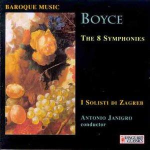 Boyce; Symphonies Nos. 1