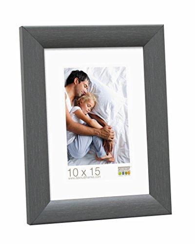 Deknudt Frames S54SF7 Cadre Photo Bois Gris 15 x 23 cm