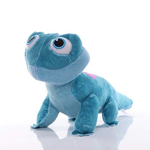 Juguetes blandos Dibujos animados infantiles Peluches de peluche juguetes Olaf Toys Bruni Figurine Chameleon Boys Girls Llush Toy DSB