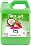 TropiClean Berry Breeze Deodorizing Pet Spray, 1 gal - Helps Break Down Odors to Effectively Deodorize Dogs and Cats, Paraben Free, Dye Free, Made in the USA