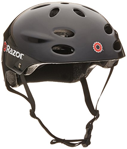 Razor V-17 Adult Multi-Sport Helmet (negro)