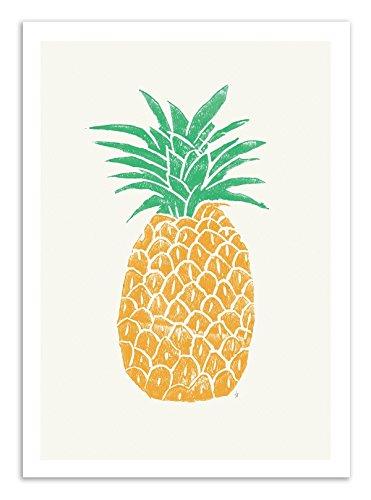 Art-Poster – Pineapple – Spuren Andrews
