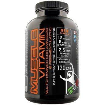 MUSCLE VITAMIN - Vitamine e Aminoacidi per la Crescita Muscolare - Net Integratori (2)