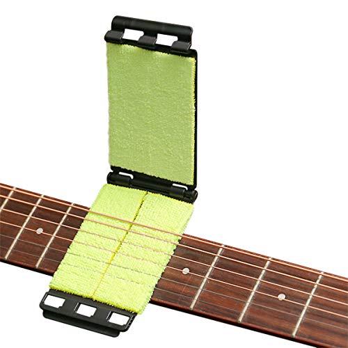 Strumento per la pulizia delle corde della tastiera della chitarra, strumento di manutenzione per chitarra, basso, mandolino, ukulele