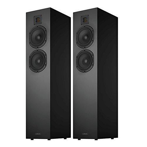 Piega Classic 5.0 Premium Floorstanding Speakers (Pair) (High Gloss Black)