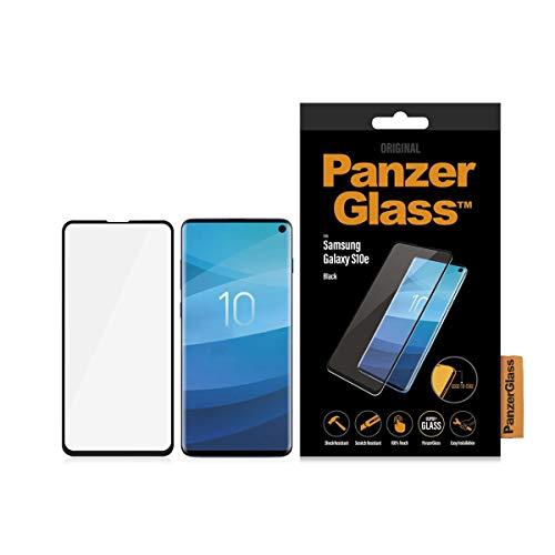 Panzerglass \'Edge-to-Edge\' Displayschutz (Case Friendly) für Samsung Galaxy S10E, Black