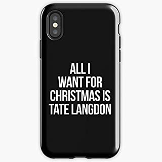 Ahs American Horror Story Evan Peters Tate Langdon - Apocalypse Phone Case Glass, Glowing For All Iphone, Samsung Galaxy-sonchafa.