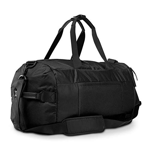 OGIO XIX Gym and Travel Duffel Bag with Multiple Storage Compartments, Carbon Black, 32 Litre Capacity