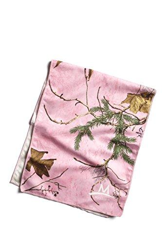 MISSION Enduracool Handtuch Kühlung Mikrofaser, groß, Unisex - Erwachsene, Pink Real Tree, Large