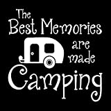 Brand Free Pegatinas de coche de 38 cm, diseño de los mejores recuerdos, para acampar, al aire libre, para tu coche, camión, caravana, remolque, viaje, bote de basura