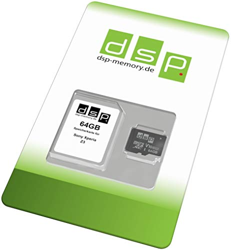DSP Memory 64GB Speicherkarte (Class 10) für Sony Xperia Z3