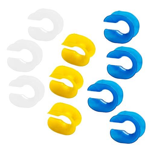 Baoblaze 10pcs Boucle Corde Fermoir Connexion Couture Sécurité Plastique