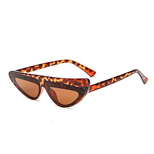 chuanglanja Gafas De Sol Juveniles Gafas De Sol Para Mujer Gafas De Sol De Ojo De Gato Rojo Vintage Gafas De Sol Para Mujer UV400-Color-D