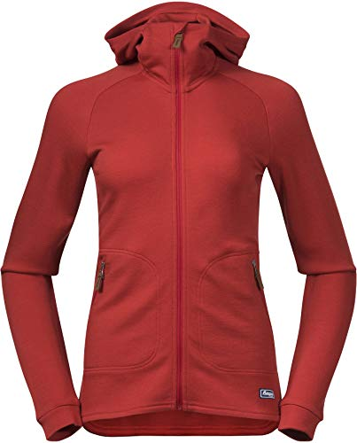Bergans Tuva Lt Wool Hood Jacket Women - Wolljacke