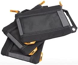 Toughbuilt Fastener Bag - Heavy Duty Mesh Window, Hanging Grommets - 3 Pack