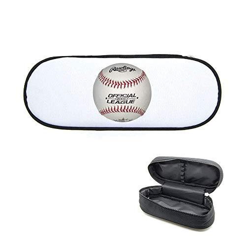 Federmäppchen, bedruckt, Baseball-Ball
