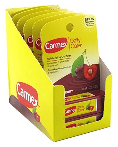 Carmex Click-Stick Moisturizing Lip Balm with SPF 15, Cherry
