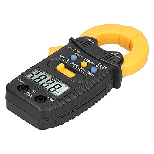 Jopwkuin Pinza Amperimétrica, Multímetro De Bolsillo Fácil De Usar Y Fácil De Leer para Corriente CA(KD3399)