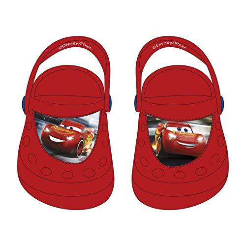 Kinderclogs Clogs Auswahl Cars Minnie Maus Frozen Kinderschuhe Flip Flops Sandalen Die Eiskönigin (Cars, 26/27)