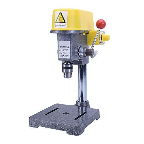Soporte para taladro,Workstation,Cobre Taladro 220V 440W Profundidad de perforación: 25 mm mini Soporte de Taladro Universal para taladrar con Absoluta exactitud HHY