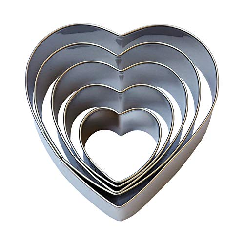 Heart Cookie Cutter Set -