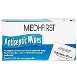 Antiseptic Towelettes, Antiseptic Wipes Individually Wrapped, Extra Large 40 Pack