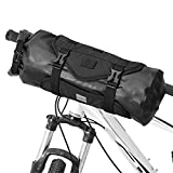Lixada Bolsa de Manillar para Bicicleta Impermeable Capacidad Ajustable Desmontable Bolsa Delantera para Bicicleta 3-7 L (Estilo 1-Nuevo)