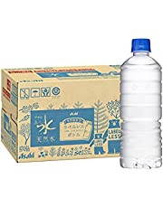 アサヒ飲料 おいしい水 天然水 ラベルレスボトル PET600ml×24本