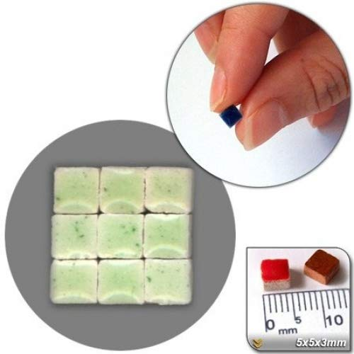 CK Mix Orange Mosaic Minis MXOR 5x5x3/mm , Pack of 500 /& # 252