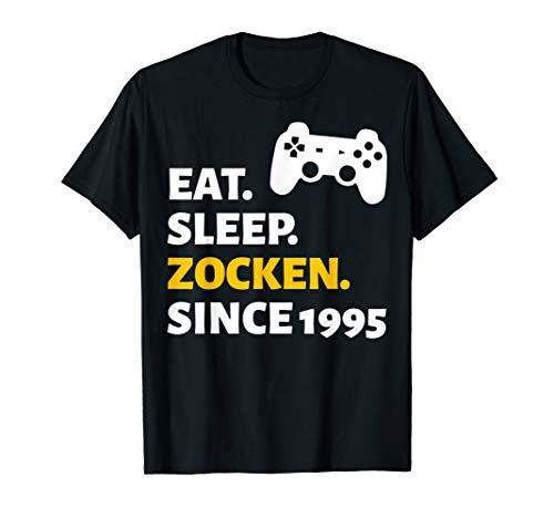 25. Geburtstag 25 Jahre Mann Frau Jahrgang 1995 Geschenk T-Shirt