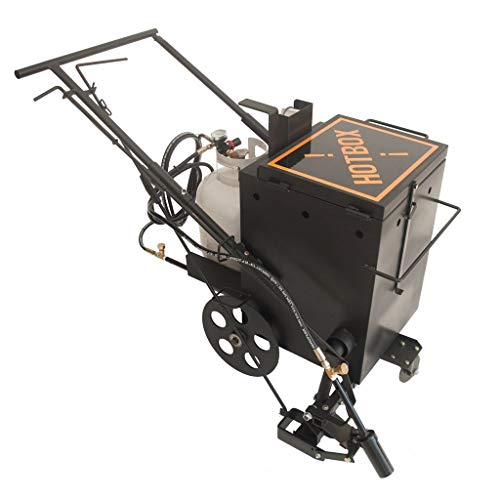 Hotbox 10 Crack Filling Machine Mobile hot Rubberized Asphalt Melter Kettle (Hotbox 10 Dual Torch)