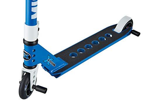 Micro Mx Trixx Stunt-Roller, für Kinder im Alter von 5-12 Jahren, Ozeanblau