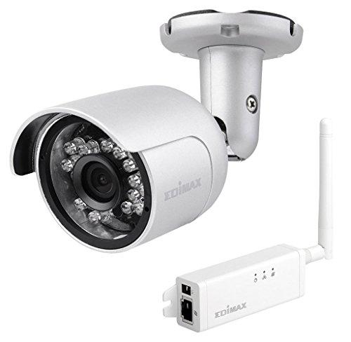 Edimax IC-9110W Smart HD WLAN Mini Outdoor-Netzwerkkamera mit 139° Blickwinkel