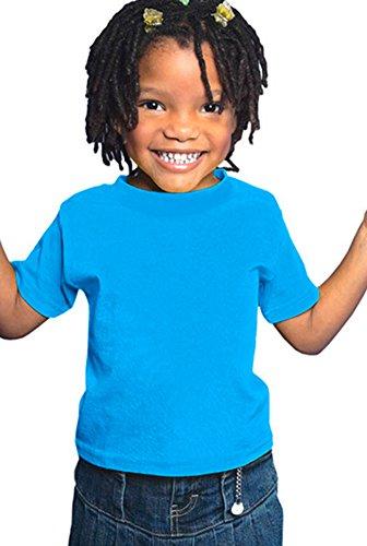 RABBIT SKINS Toddler Jersey T-Shirt, Cobalt Blue, 4T