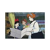 魔女の宅急便 ジグソーパズル1000ピース-大人の子供パズルおもちゃゲームクラシックパズル教育ギフト家の装飾壁ア(75x50cm)パズル