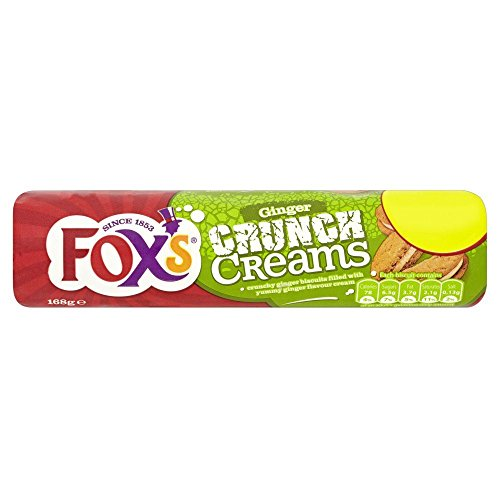 Fox's Ingwer Crème Biscuits - 168g x 2 Doppelpack