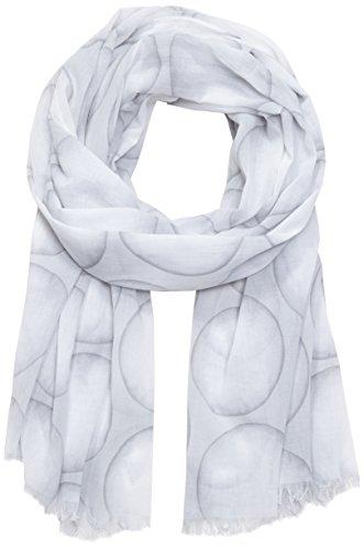 OPUS Damen Angiba scarf Schal, Grau (flawless ash 8037), One size (Herstellergröße: 0)